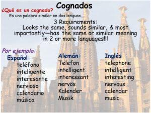 español y el alemán