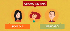 socializar en portugués