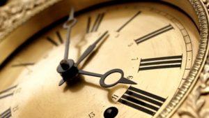 tiempo en inglés
