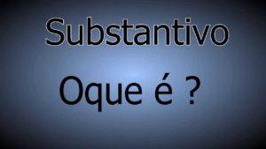 sustantivos en portugués