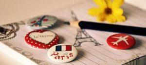 la escritura del francés