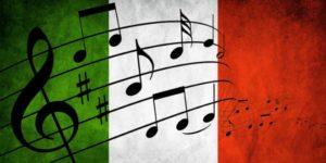 la música de Italia