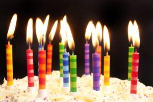 Feliz cumpleaños en Inglés