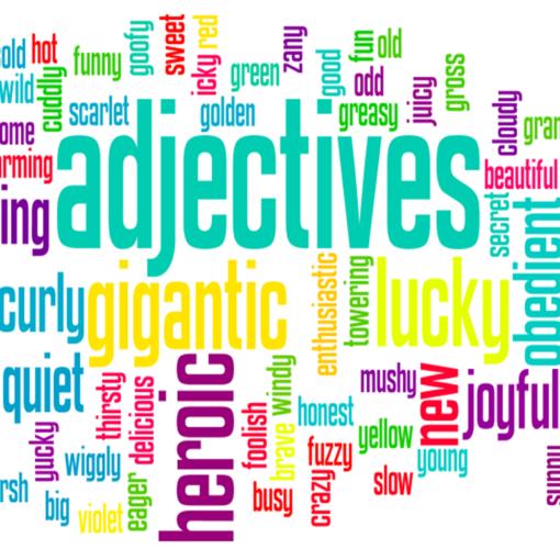 palabras descriptivas