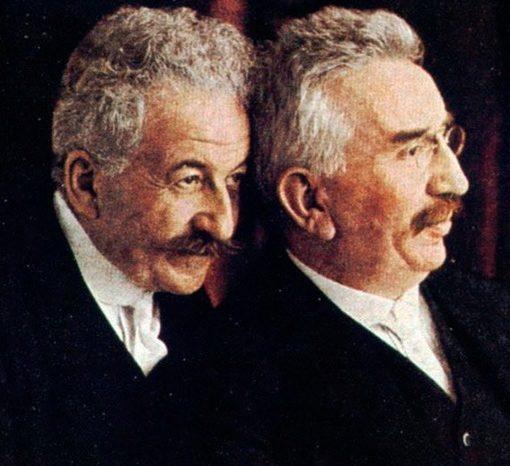 Auguste y Louis Lumière