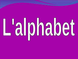 el abecedario francés