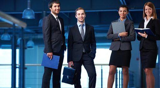 el trabajo y los negocios