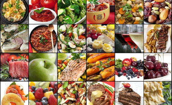comidas y postres en aleman