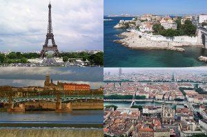 ciudades y pueblos