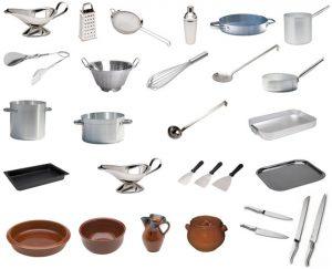 la cocina en francés