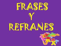 frases y refranes