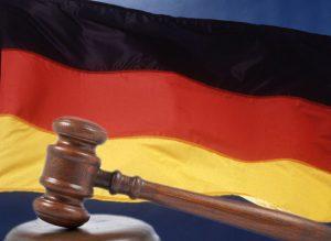 la justicia alemana.
