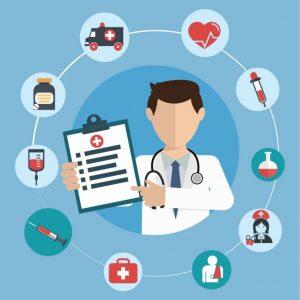 la salud y los cuidados médicos