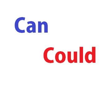 can y could
