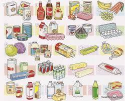 envases y cantidades en inglés