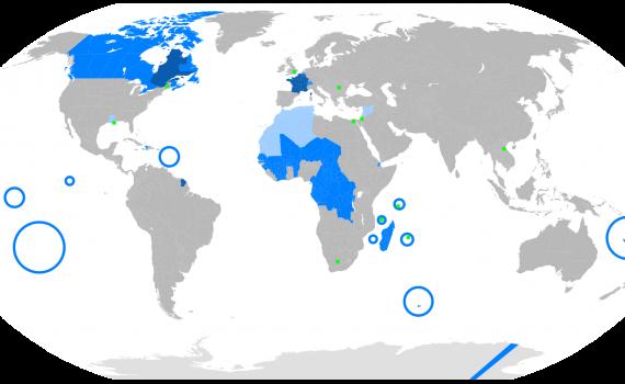 países francófonos