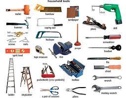 herramientas en inglés