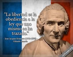 Rousseau en francés
