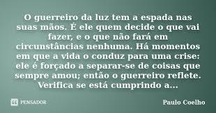 reflexiones de Paulo Coelho