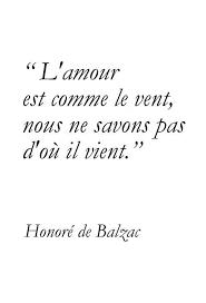 Reflexiones De Honore De Balzac En Francés Sobre La Vida