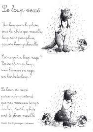 poemas para niños en francés