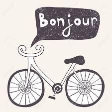 las bicicletas en francés