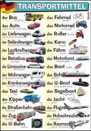 medios de transporte en alemania