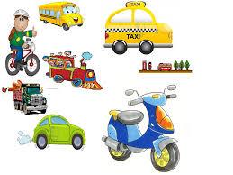 partes de los transportes en portugués