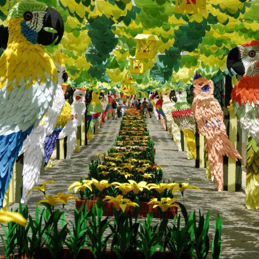 la fiesta de las flores