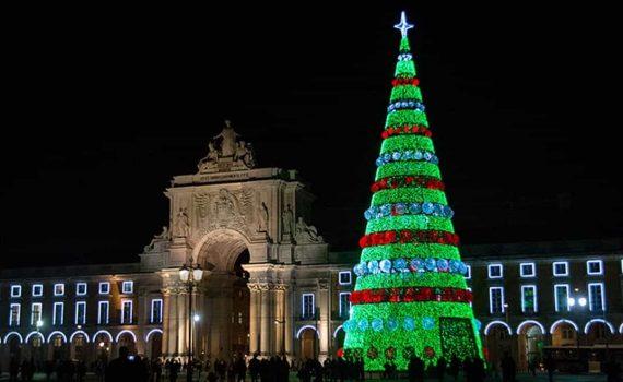 Lisboa en navidad
