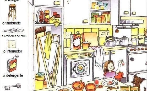 la cocina en portugués