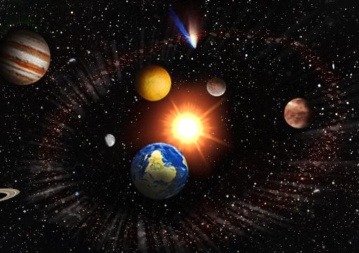 astronomía en inglés