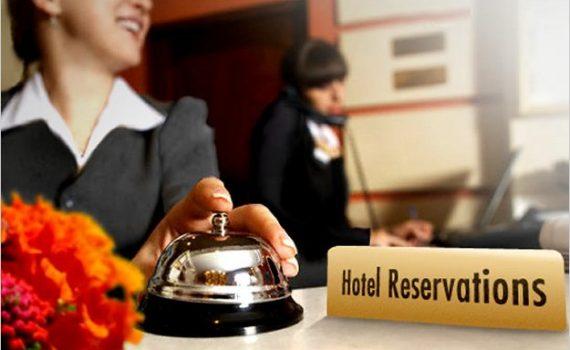 Reservaciones en un hotel