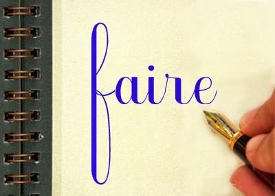 expresiones con el verbo faire