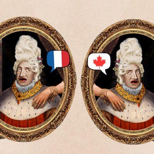el francés de Francia