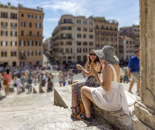 roma en verano