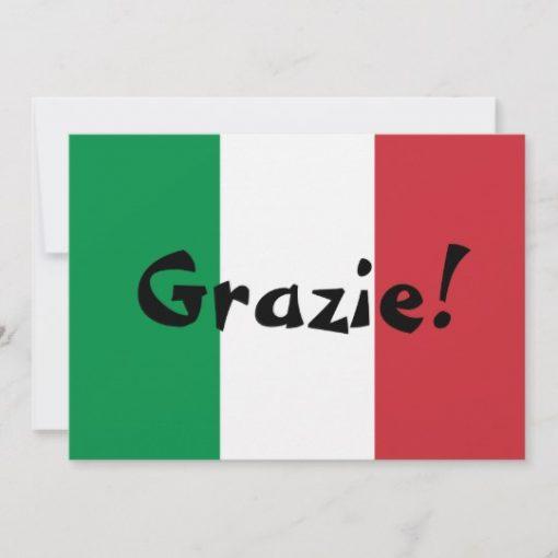 gratitud en italiano