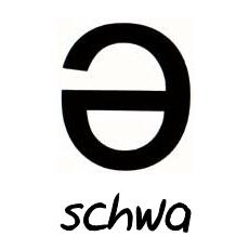 SCHWA en inglés.