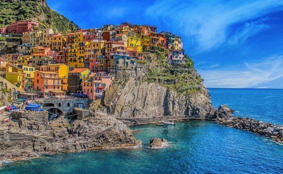 La costa italiana de los 5 pueblos