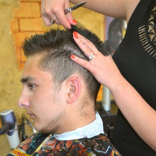 La peluquería y la belleza