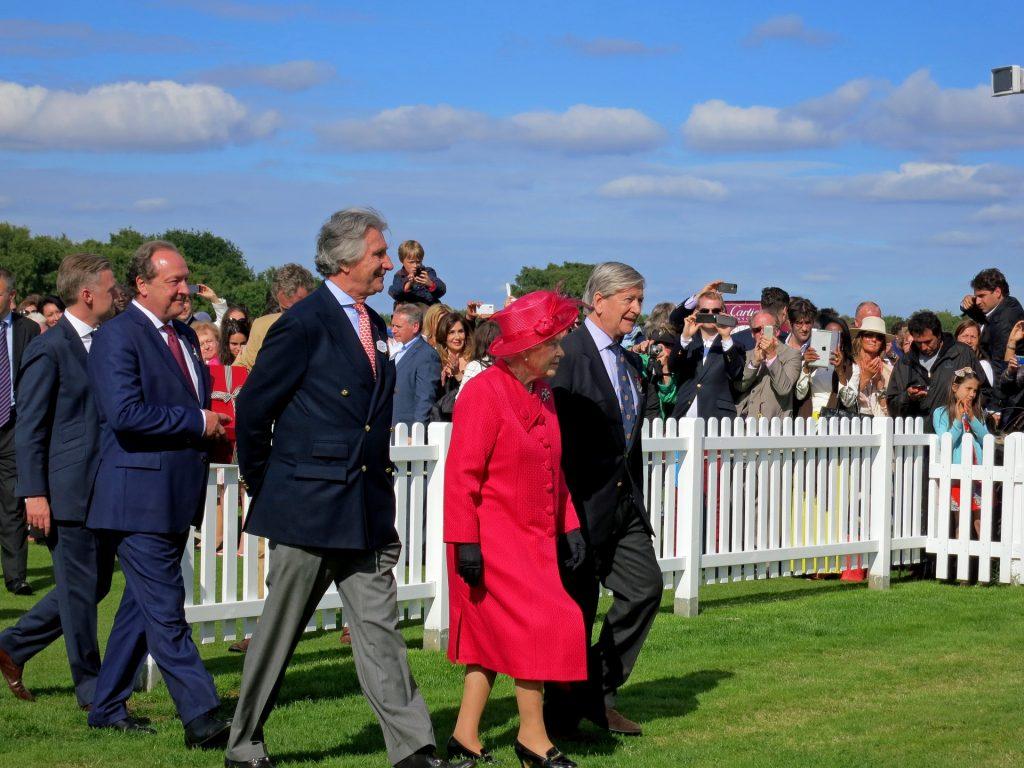 La corona británica