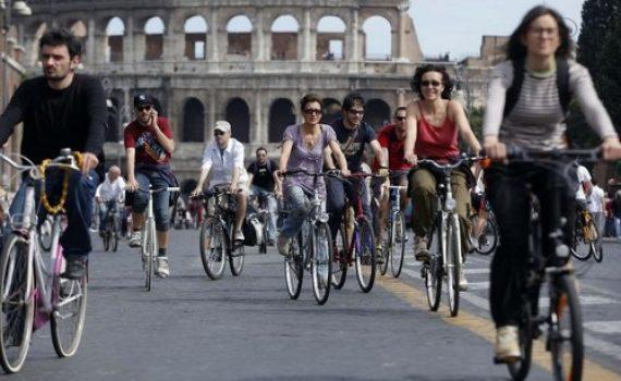 La bicicleta en Italia
