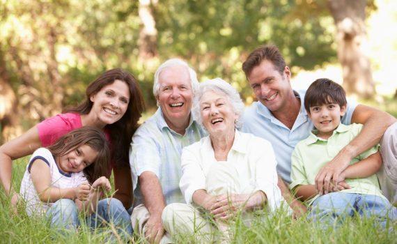 La familia en francés