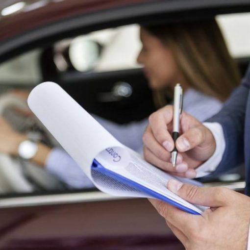 Examen de conducción